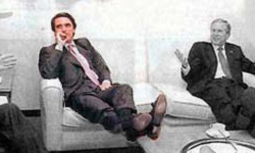 Aznar, ese (gran) hombre