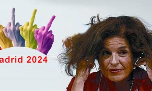 Ana Botella presenta el logo de Madrid 2024